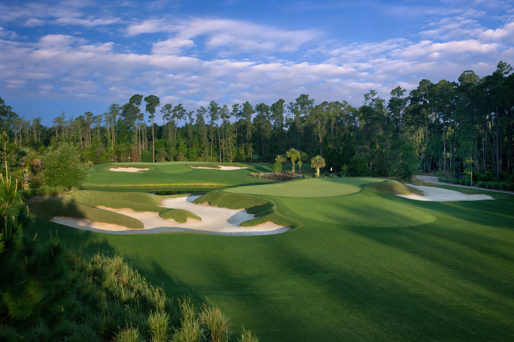 how to build a golf course